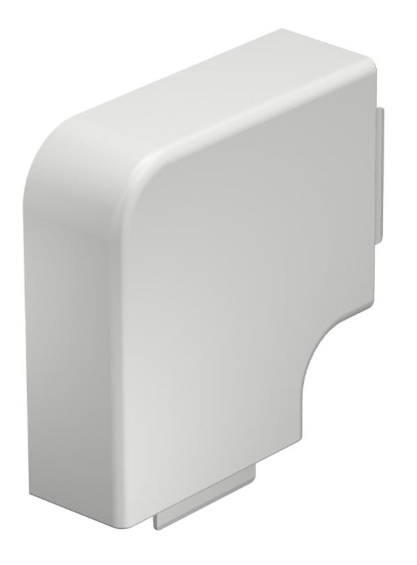 6021336 - OBO BETTERMANN Крышка плоского угла кабельного канала WDK 40x90 мм (ПВХ,серый) (WDK HF40090GR).