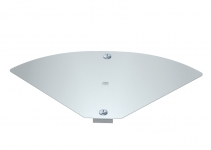 6040762 - OBO BETTERMANN Крышка для угловой секции кабельного листового лотка Magic 154x272 (DFBMV 150 FS).