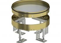 7409084 - OBO BETTERMANN Кассетная рамка RKR2 ном.размер 4 ø 215 мм (латунь) (RKR2 4M 25).