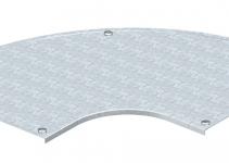 7130589 - OBO BETTERMANN Крышка угловой секции 90° 400мм (DFB 90 400 DD).