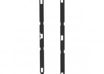 DP-RxF-CW-48/60/5 - Разделительная рама для создания холодной зоны глубиной 50 мм перед передней парой 19