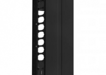 HDWM-VMF-45-25/30F - Вертикальный кабельный организатор (монтаж на открытую стойку) со съемной крышкой (крышка разделена на 3 части), 44