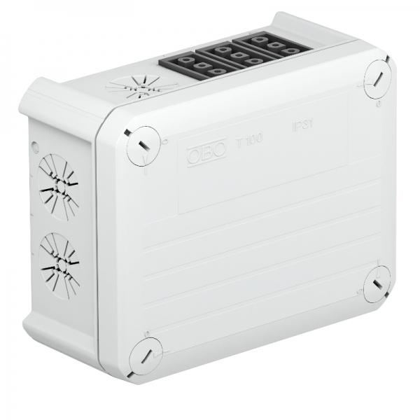 2007813 - OBO BETTERMANN Распределительная коробка 150x116x67 (T 100 WB 3S3).